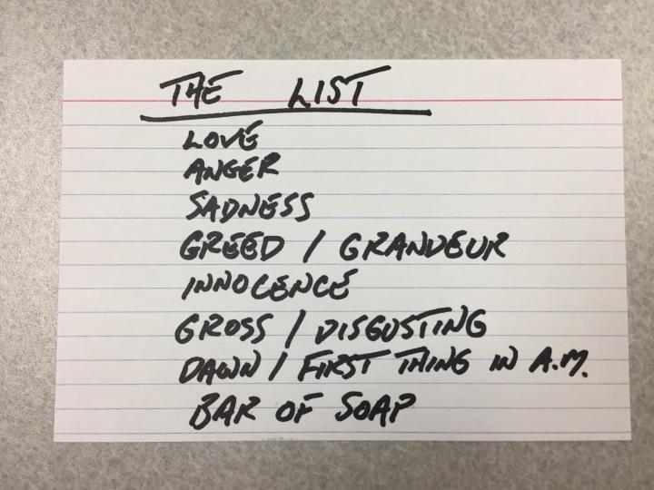 PHOT 150 List